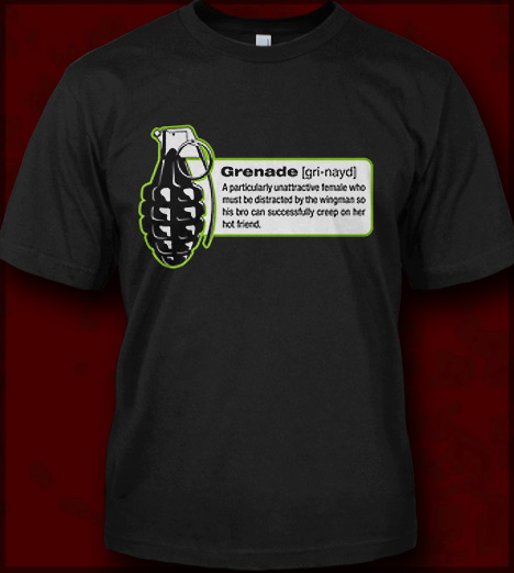076291429 GRENADE DEFINITION T-SHIRT - JERSEY SHORE T-SHIRTS FOR GUIDOS AND GUIDETTES
