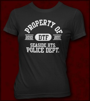 PROPERTY OF SEASIDE HEIGHTS POLICE DEPT