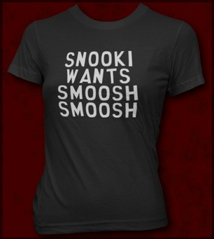 SNOOKI WANTS SMOOSH SMOOSH