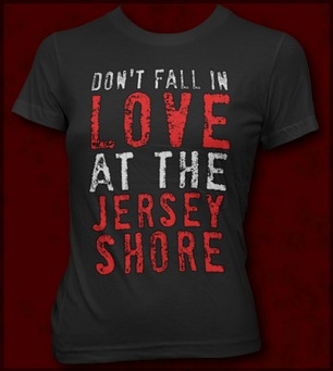 DON'T FALL IN LOVE AT THE JERSEY SHORE