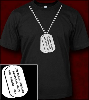 DOG TAGS NECKLACE JERSEY SHORE